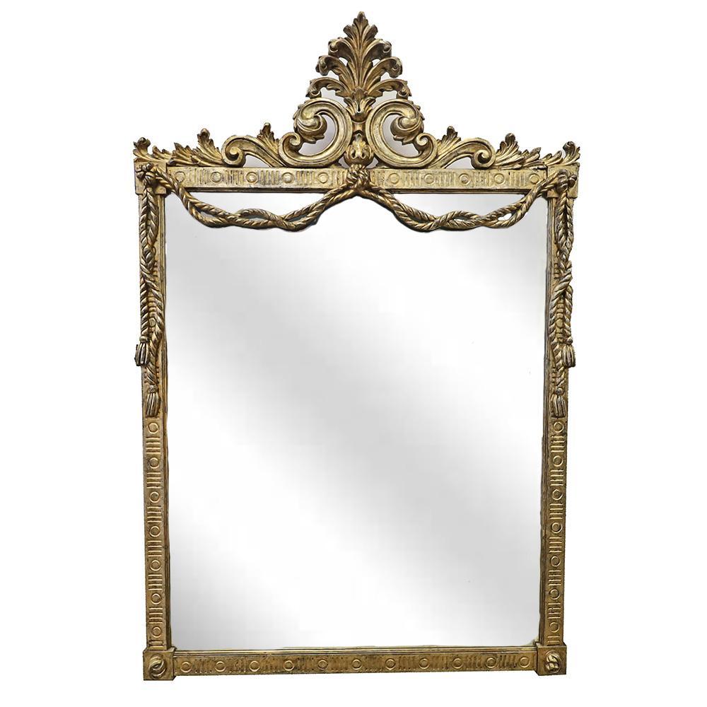 Louis Soloman Gold Mirror