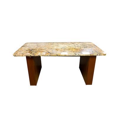 Granite Top With Custom Wood Base Table
