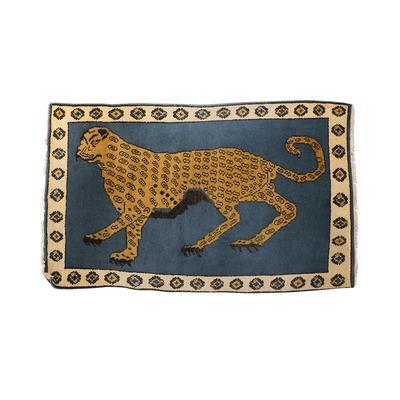 Jaguar Wool Rug