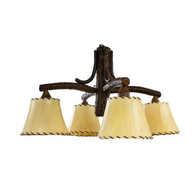 Old Hickory 4 Light Chandelier