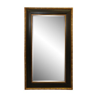 Black Gold Frame Mirror