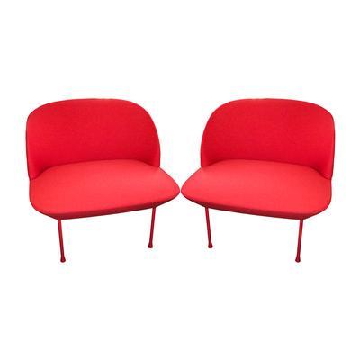 Pair of Muuto Oslo Lounge Chairs