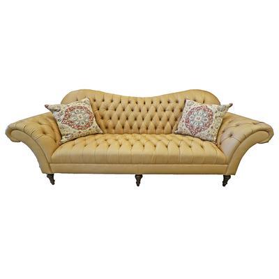Arhaus Lincoln Leather Sofa