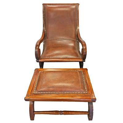 Plantation Chair w/ Ottoman
