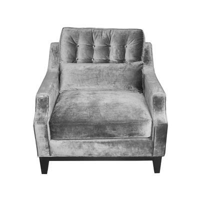 Jonathan Louis Grey Conner Arm Chair