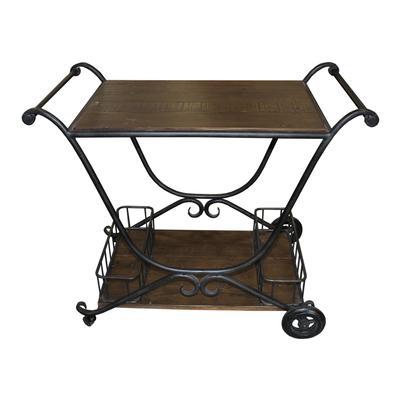 Arhaus Industrial Bar Cart