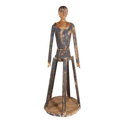 Santos Wood Cage Doll