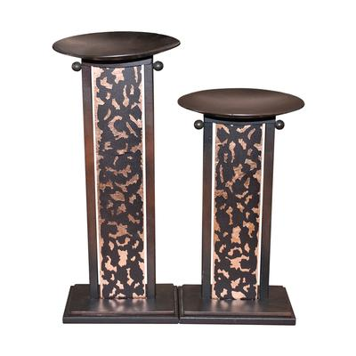 Pair Evan Design Candle Holders