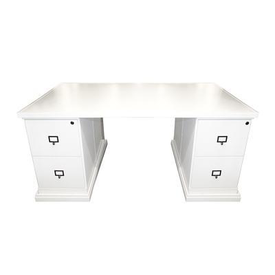 Ballard Design White Partners Desk