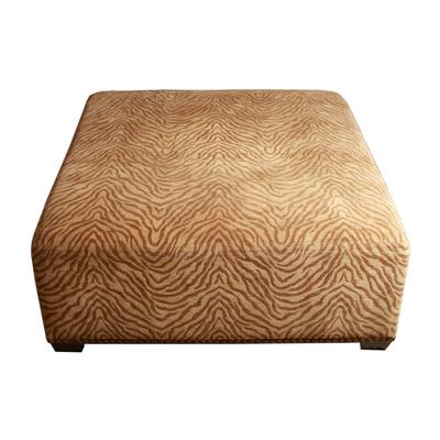 Upholstered Zebra Coffee Table/Ottoman