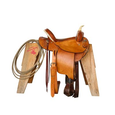 Dakota Barrel Racing Saddle