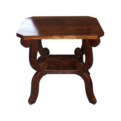 Mahogany Wooden End Table