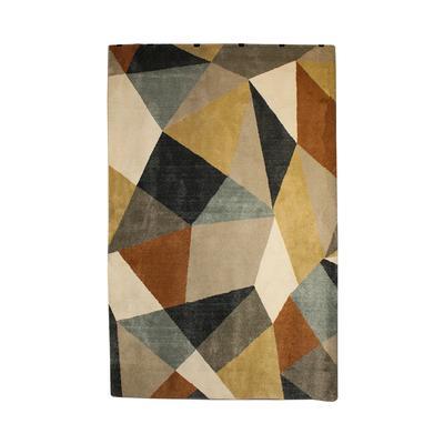 Geometric Patterned Rug