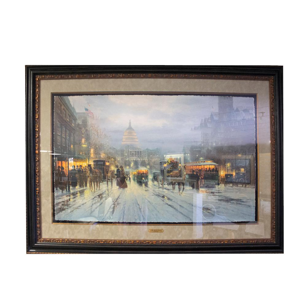 G.Harvey Pennsylvania Ave Art Print