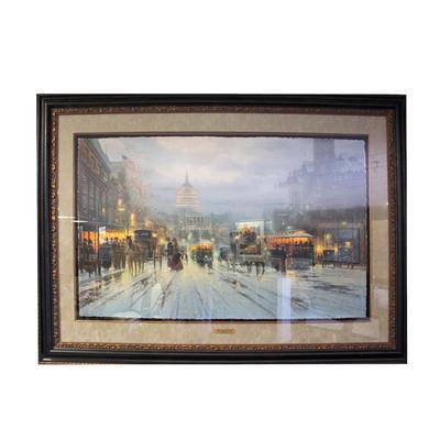 G. Harvey Pennsylvania Ave Art Print