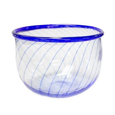 Vintage Kosta Boda Signed Mid Century Art Glass Bowl