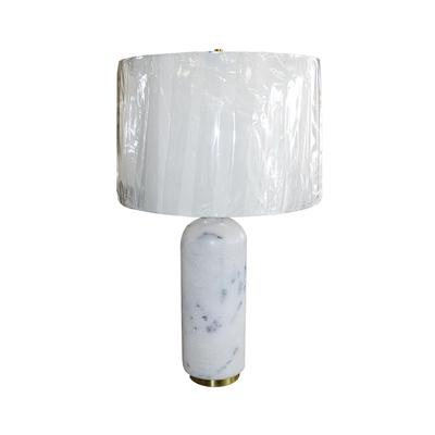 Mitchell Gold Nouveaux White Marble Lamp