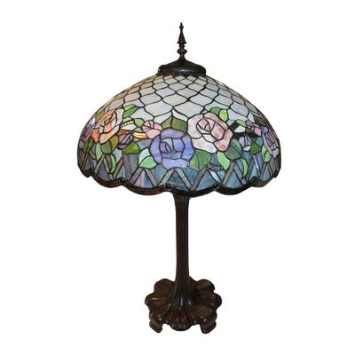 Tiffany Dale Style Lamp
