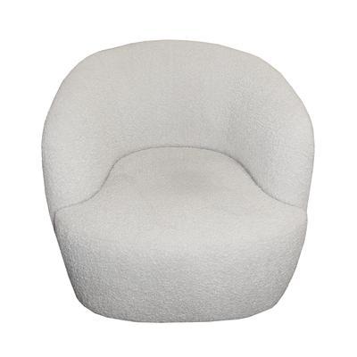 Crate & Barrel Calder Vegan Sheepskin Chair