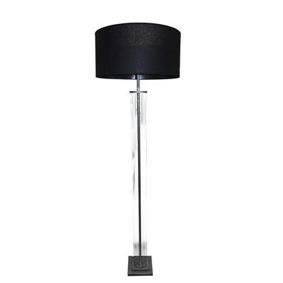 Restoration Hardware French Glass Column Lamp