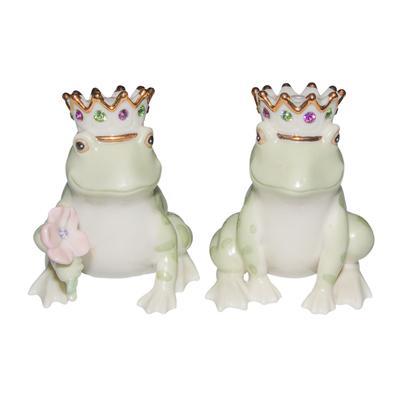 Lenox Forg Prince and Princess Salt and Pepper Shakers