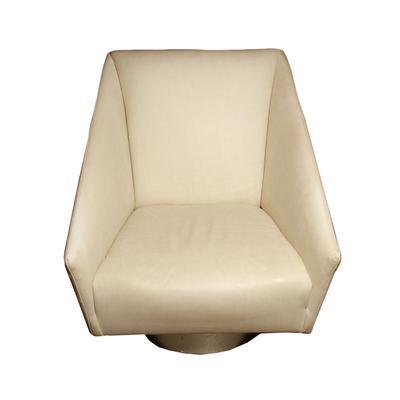 Bernhardt Leather Swivel Chair