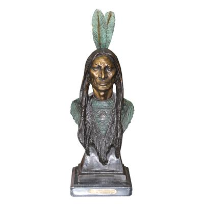 Bachman Native American Bust