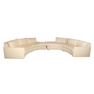 Lee Industries Semi-Circle Crypton Sofa