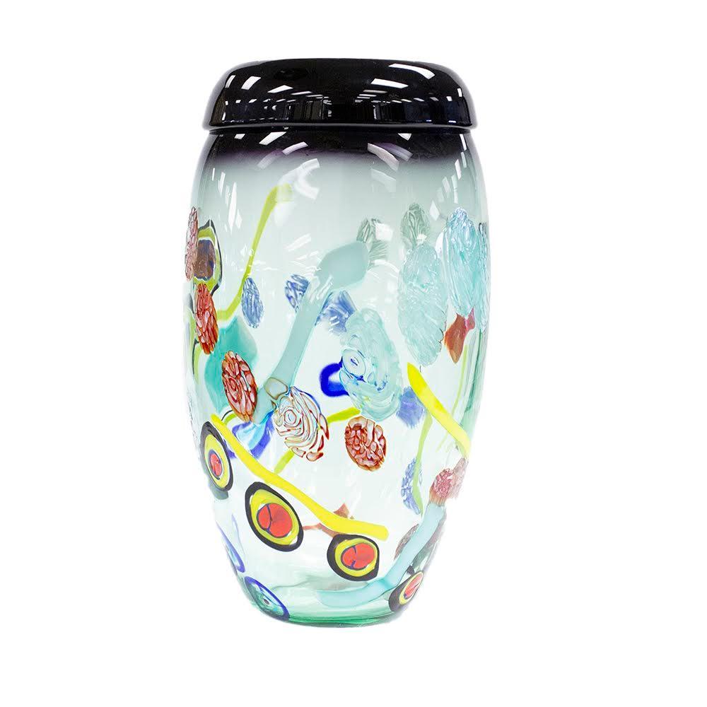 Small Murano Signed Art Glass Vase