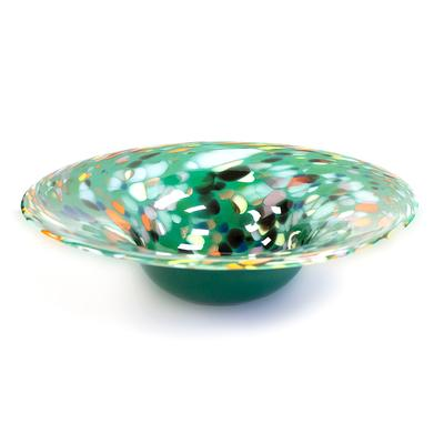 Large Art Glass Bowl