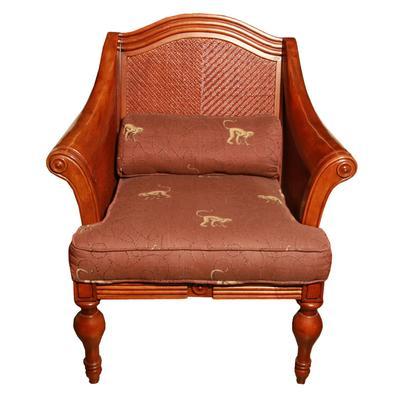 Club Chair with Monkeys