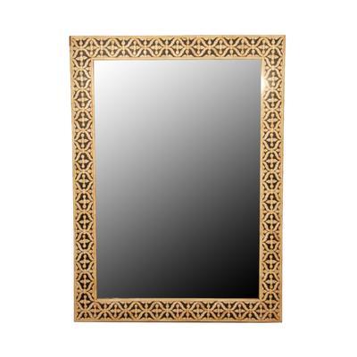 Bone Frame Inlay Mirror