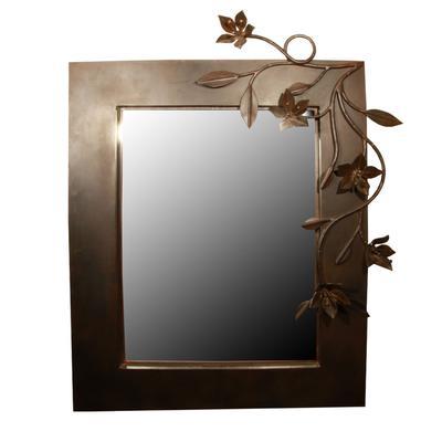 Jan Babolglio 3D Floral Mirror