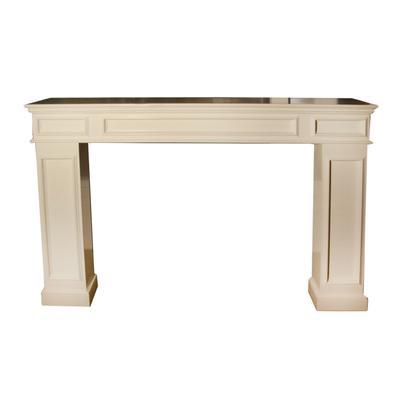 White Mantel Fireplace