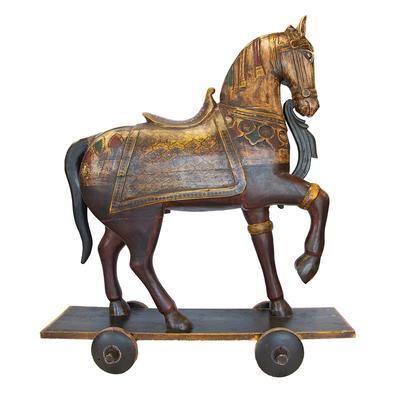 Retro Horse On Wheels