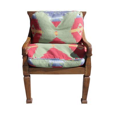 Walnut Heavy Frame Chair