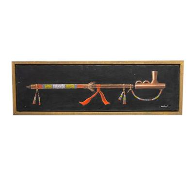 Native American Pipe Artwork