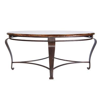 Bernhardt Interiors Clark Oval Cocktail Table