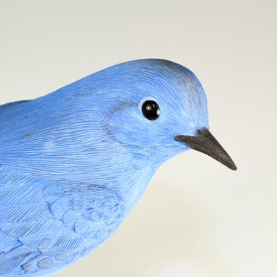 Trethewey Wooden Painted Blue Bird
