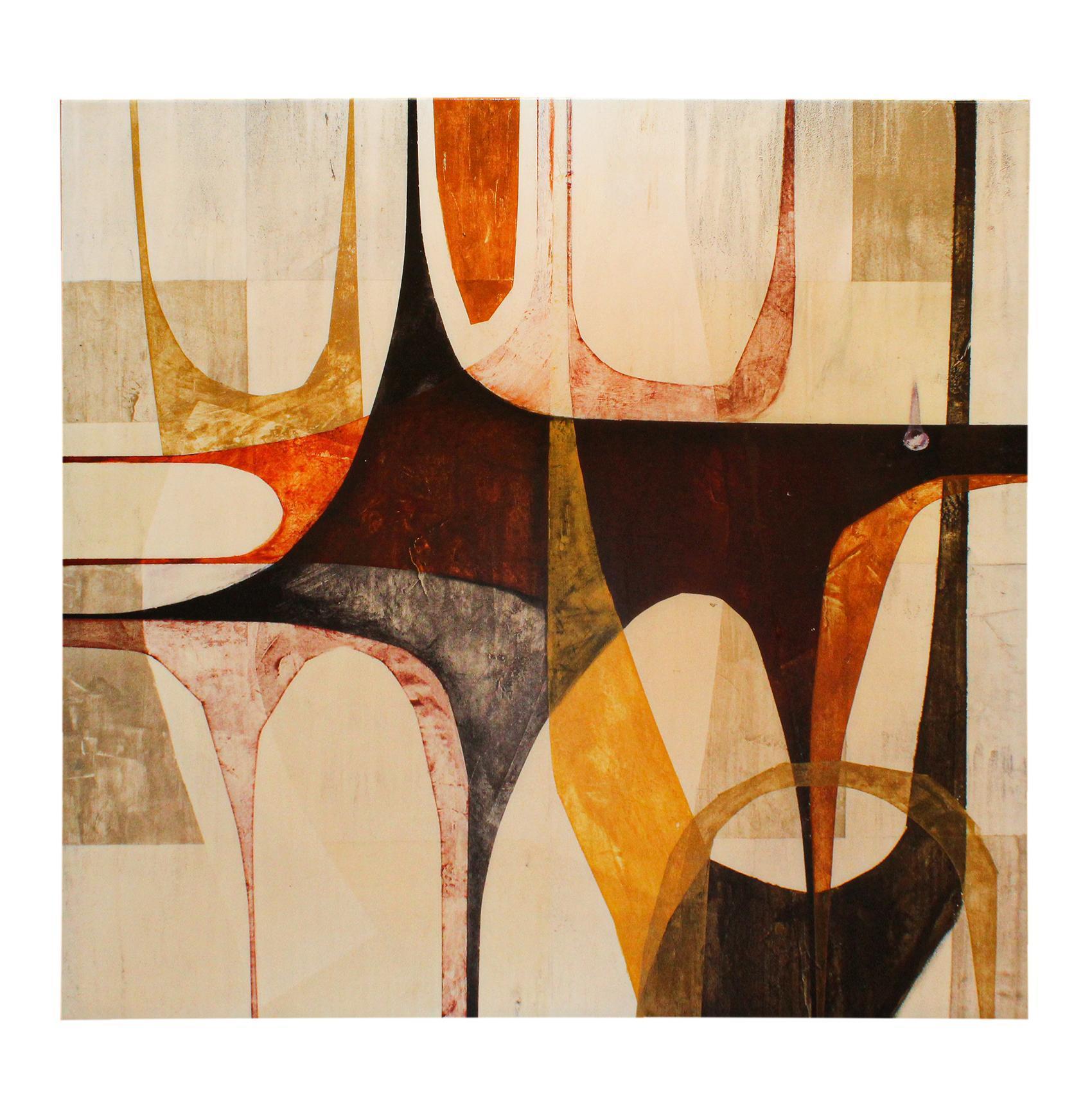 Shellacked Abstract Art