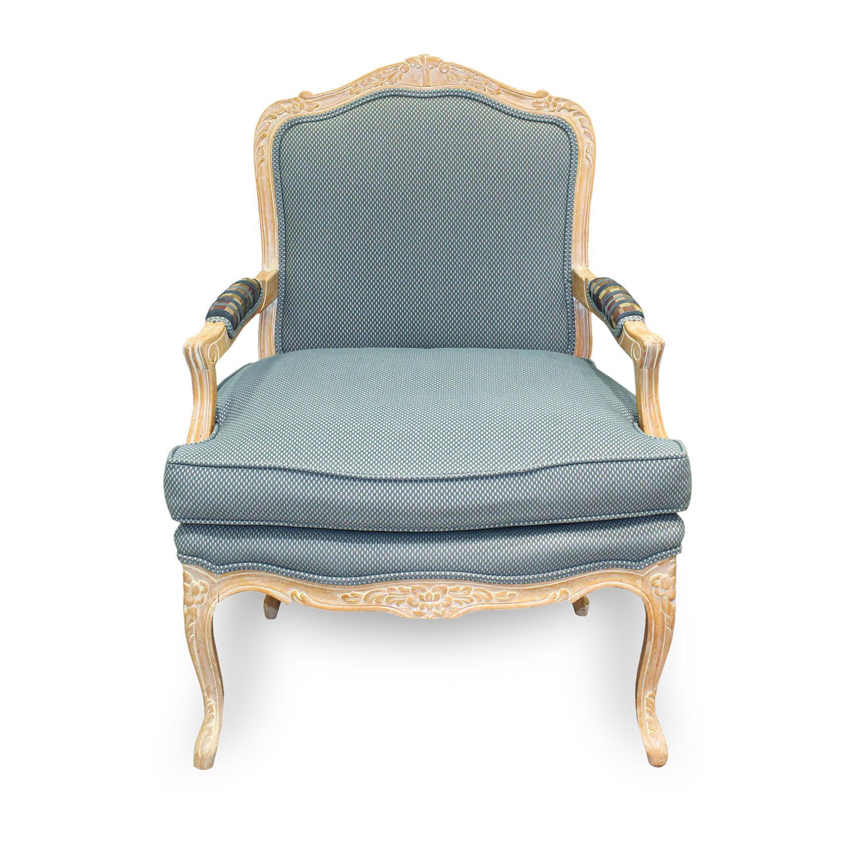 Bergere Multi Fabric Armchair