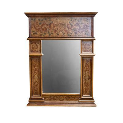 Florentine Painted Mirror