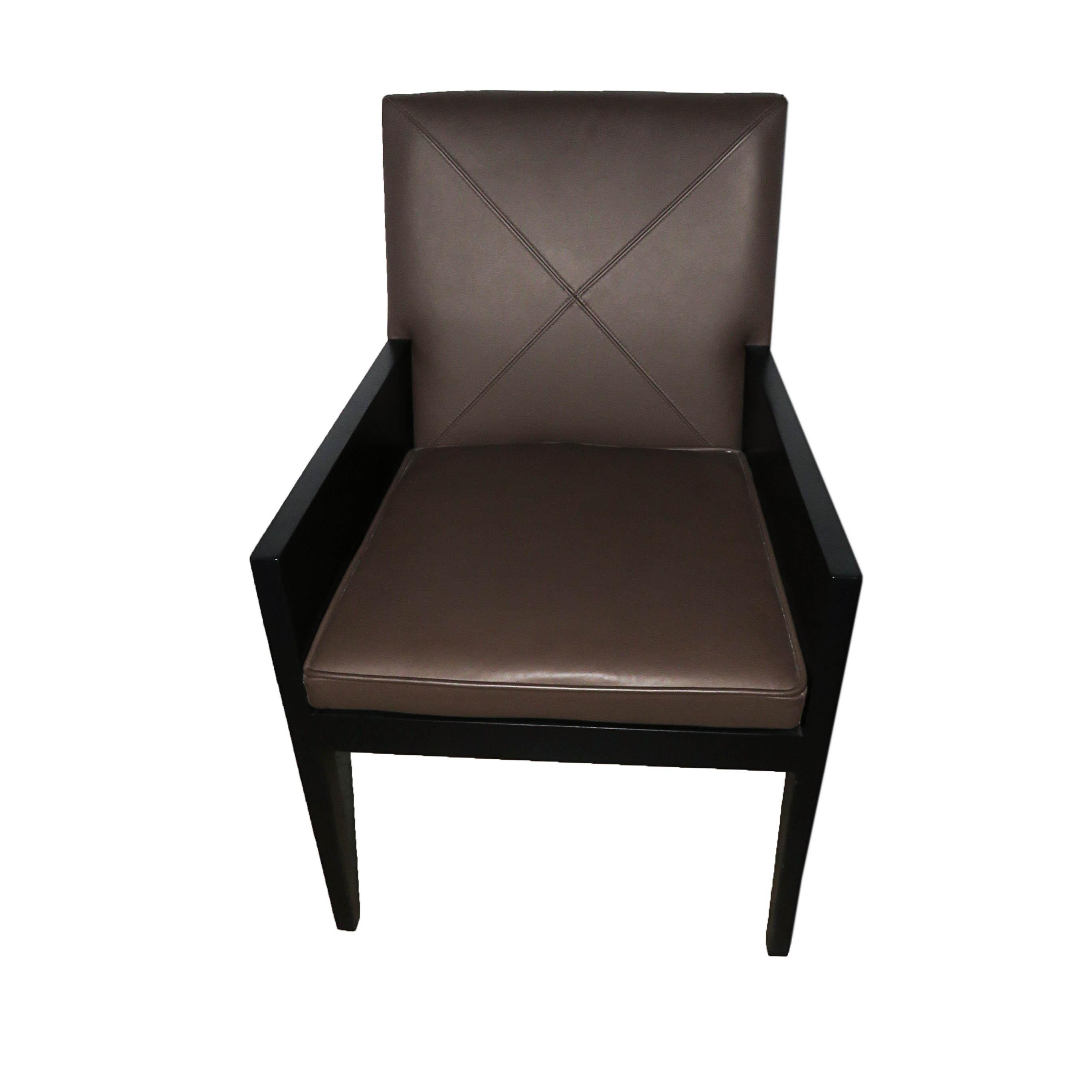 David Edward Berlin Leather Chair