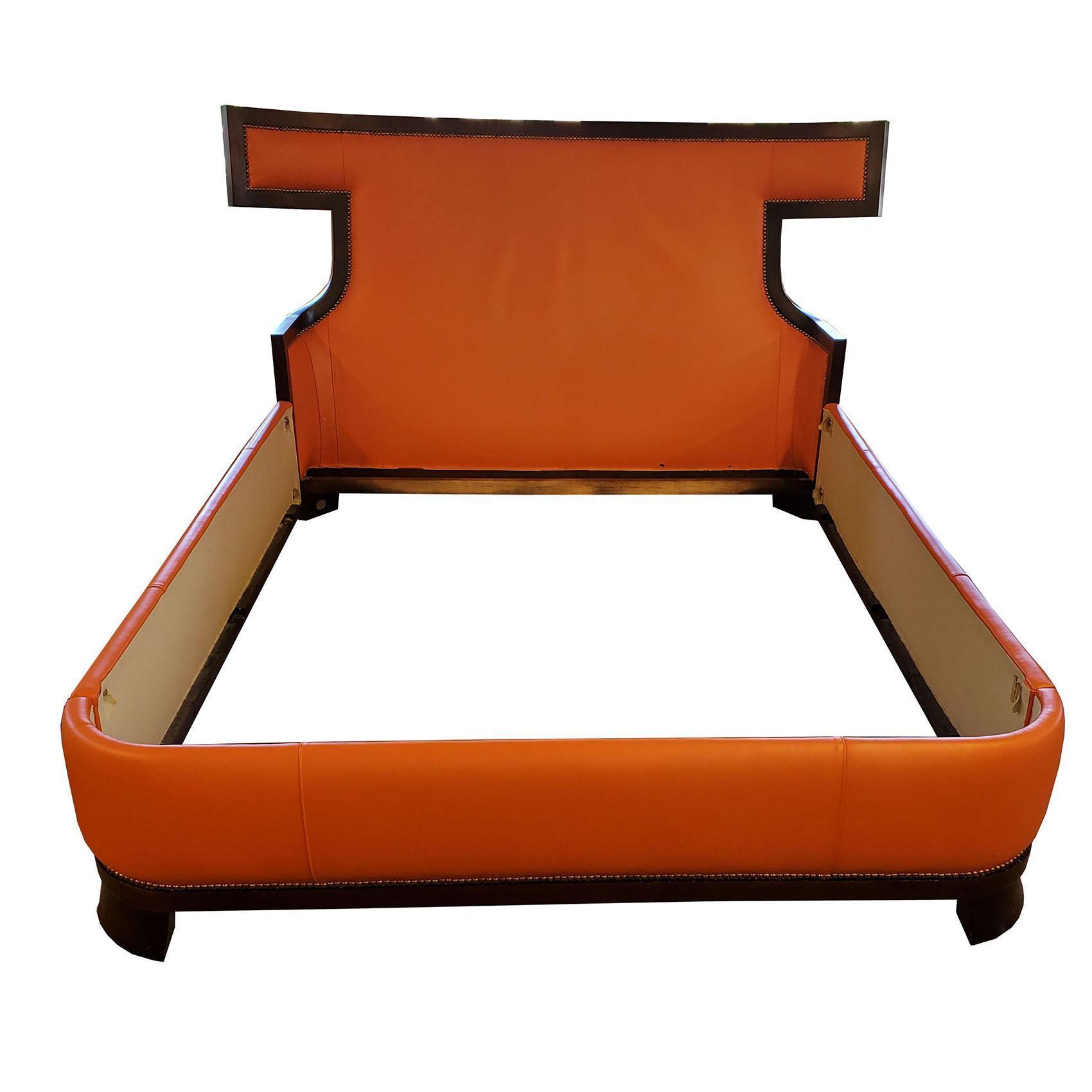Reduced Baker Furniture Lux Queen Size Bedframe