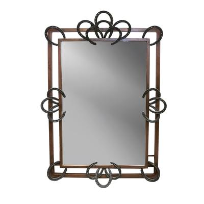 Horseshoe Frame Mirror