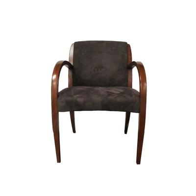 David Edward Cherry Wood Arm Chair