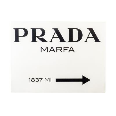 Prada Marfa Print