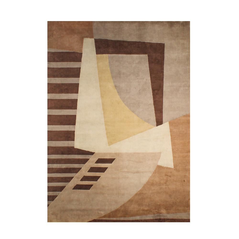 Brown Traditional Rug