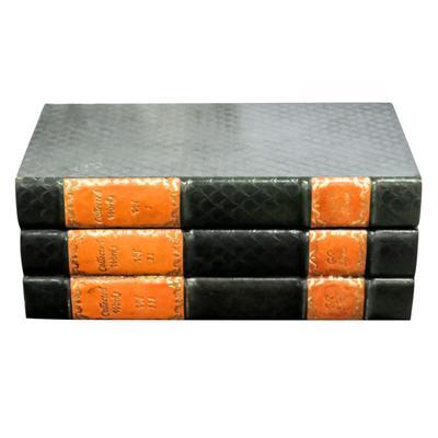 Leather Book Cigar Box