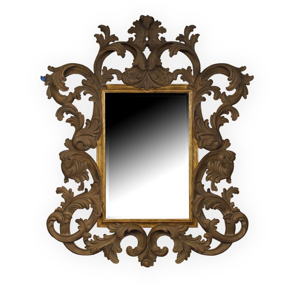 Harrison Gil Ornate Hand Carved Mirror